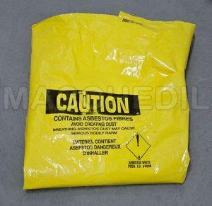Aspiratore per amianto con filtro HEPA per materiale secco e liquido