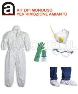 Kit monouso DPI per bonifica amianto