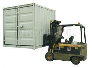 Container indistruttibile con antifurto/ Container ISO MODUL