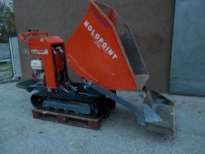 Motocarriola usata- portata 800 kg-anno 2012