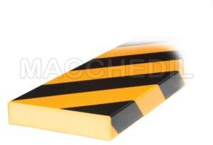 Paracolpi Flessibile di sicurezza piatto - 1 metro