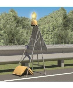Cavalletto per cartelli lavori edili stradali - ministeriali