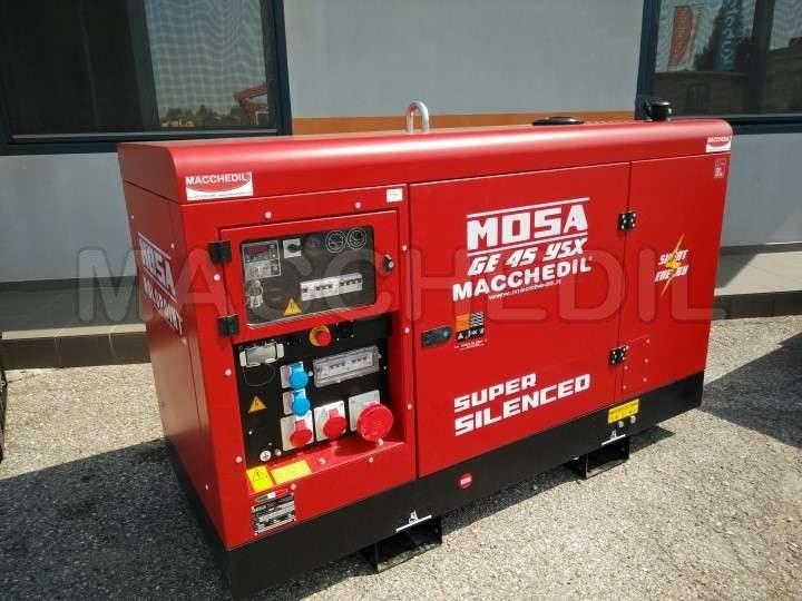 generatore di corrente usato mosa ge45ysx anno 2017 n