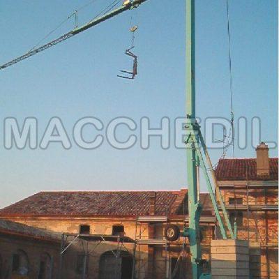 Gru a torre per edilizia Cattaneo - CM70 Usata - Matr. 04/200050/KK