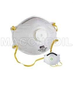 20x Mascherine antipolvere FFP1 con valvola per polveri nocive