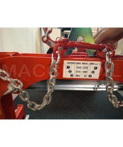 Pinza per sollevamento 1000 kg - per cordoli, lastre e manufatti