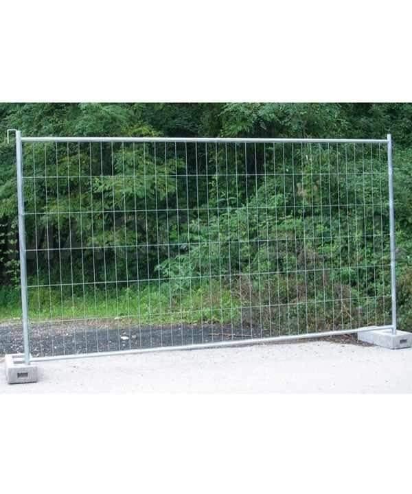 recinzione per cantiere 35 pezzi reti metalliche