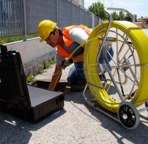 Telecamera per fognature VPI 704- Videoispezione 20 -30 metri