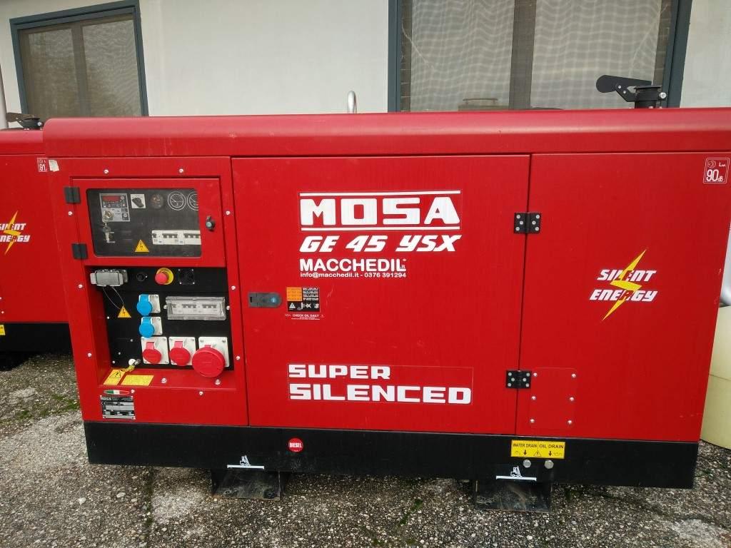 Generatore di corrente mosa ge45ysx usato anno 2017 n for Generatore di corrente diesel usato